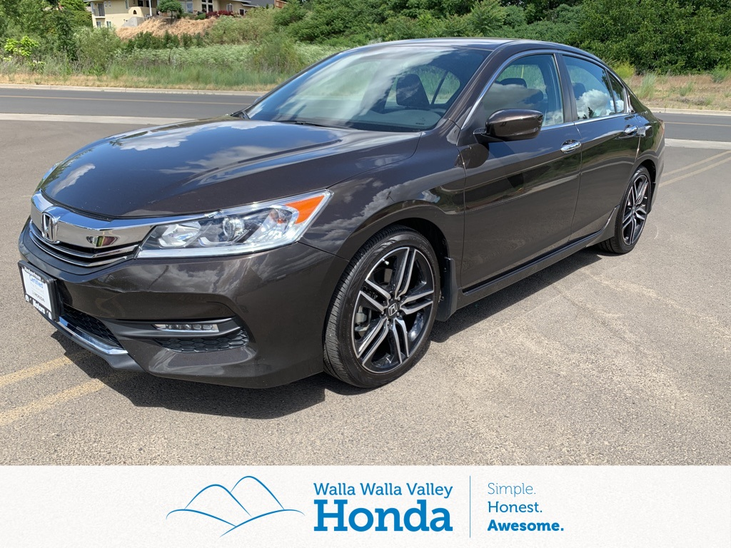 Honda Accord Sport Special Edition >> Certified Used 2017 Honda Accord Sport Special Edition 4d Sedan Near