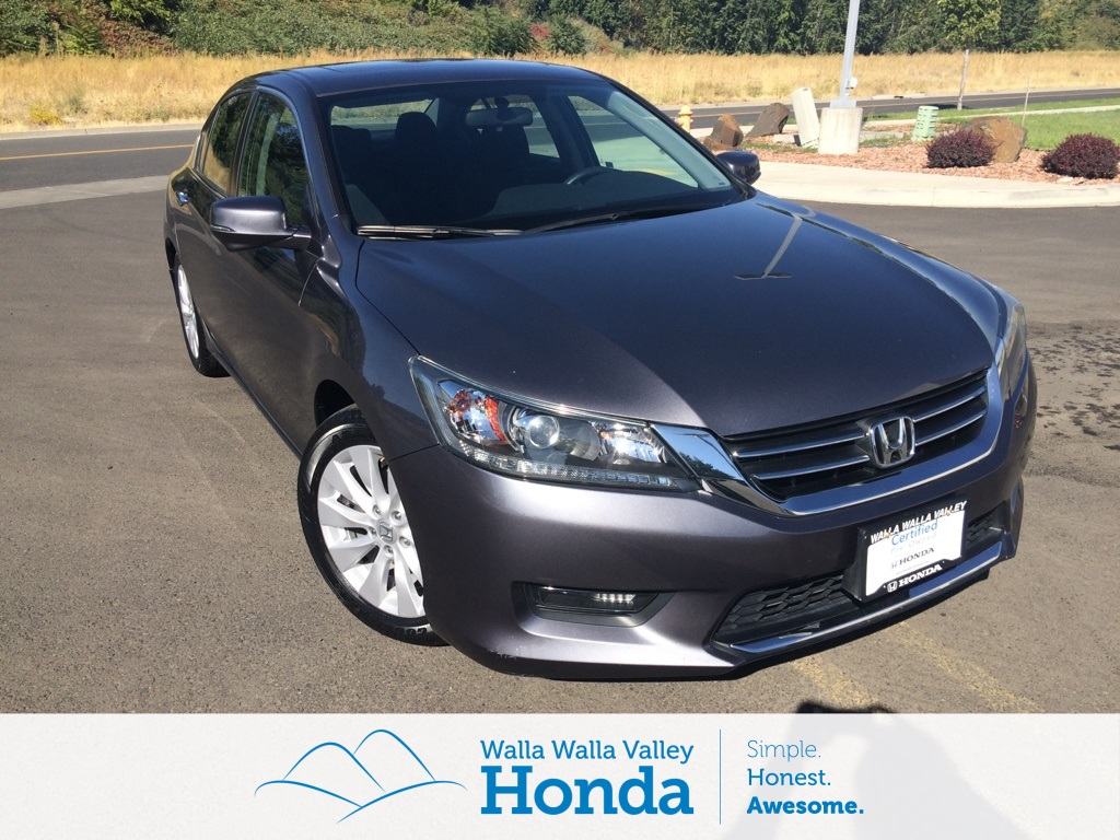 Certified Pre Owned 2015 Honda Accord EX