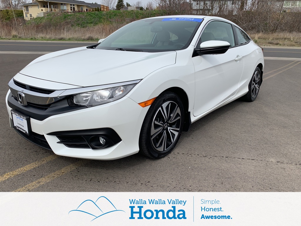 Certified Pre Owned 2016 Honda Civic Ex L