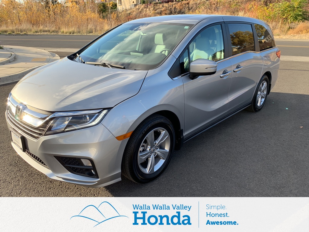 Certified Used 2018 Honda Odyssey Ex L 4d Passenger Van Near Walla Fuel Pump Unit In Pre Owned