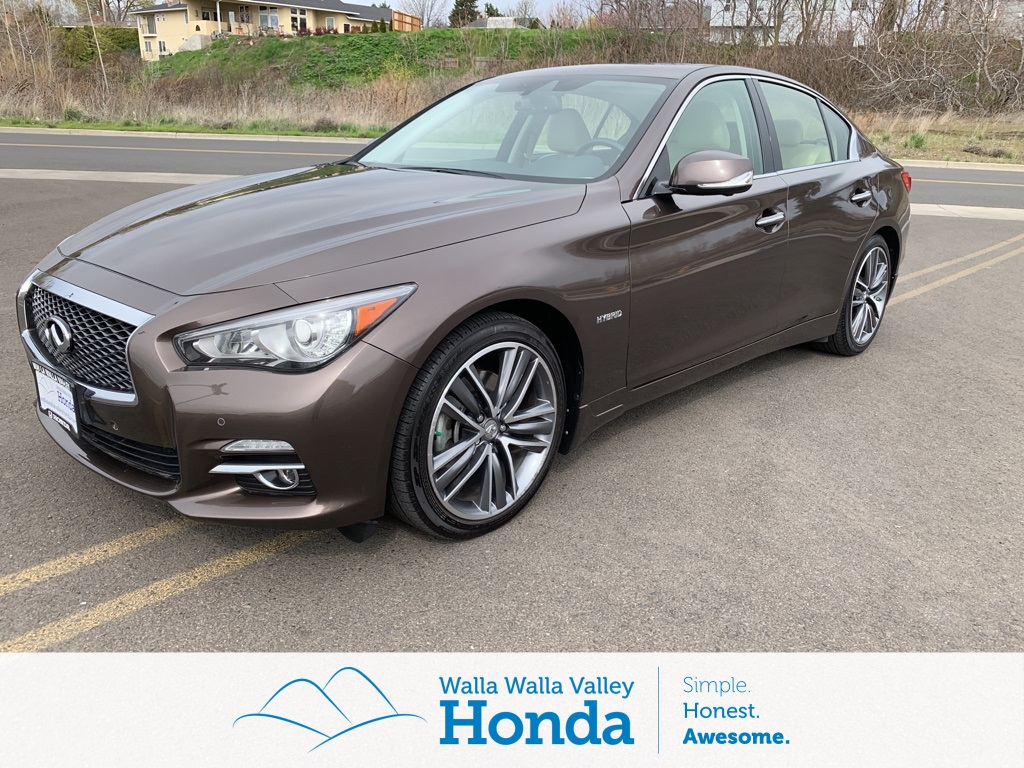 Used 2016 Infiniti Q50 Hybrid Base 4d Sedan Near Walla W530153 Valley Honda