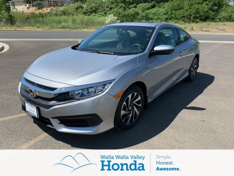 Certified Pre-Owned 2017 Honda Civic LX-P